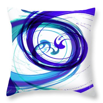 Circling Grace 2 Throw Pillow