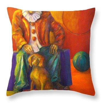 Circus Throw Pillow