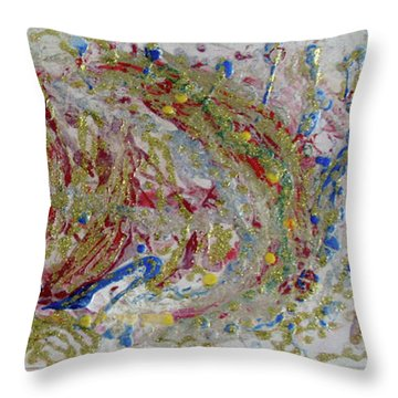 Circus In My Mind Throw Pillow