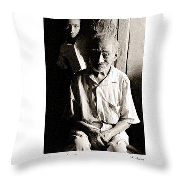 Cirio Hernandez Throw Pillow by Tina Manley