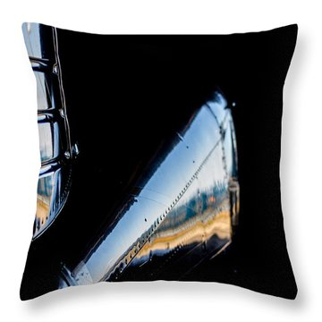 Cirrus In A Hanger Throw Pillow by Paul Job
