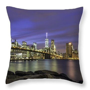 City 2 City Throw Pillow