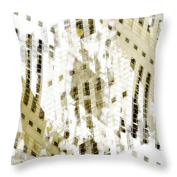 City 3 Throw Pillow