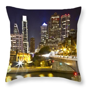 City Alive Throw Pillow