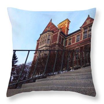 City Hall At Sunrise Throw Pillow