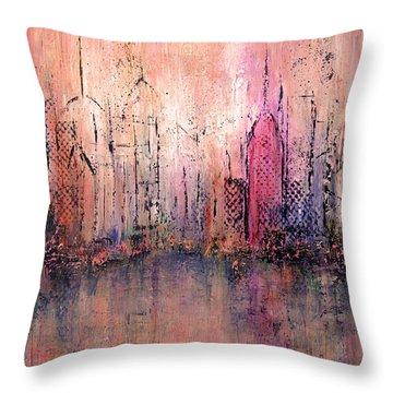 City Of Hope Throw Pillow