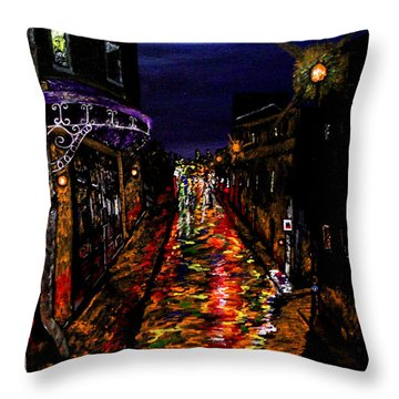 City Of Many Throw Pillow by Mark Moore