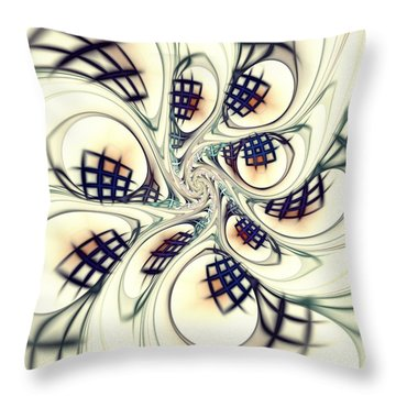 City Vortex Throw Pillow by Anastasiya Malakhova
