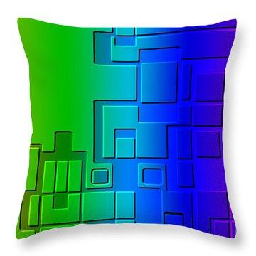 Cityblok Relief Throw Pillow