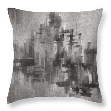 Cityscape 3 Throw Pillow