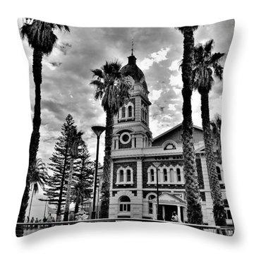 Civic Splendour - Glenelg Beach - Australia Throw Pillow