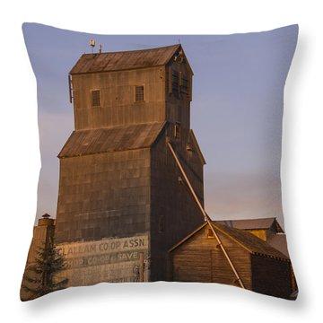 Clallum Co-op Throw Pillow
