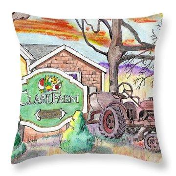 Clark Farm Danvers Throw Pillow
