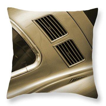 Classic '65 Corvette Throw Pillow