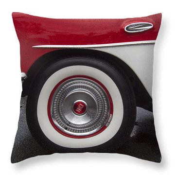Classic Buick Throw Pillow by Darleen Stry