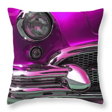 Classic Buick Throw Pillow