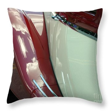 Classic Car Fender Throw Pillow