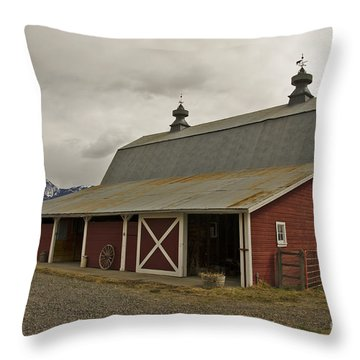 Classic Colorado Country  Throw Pillow