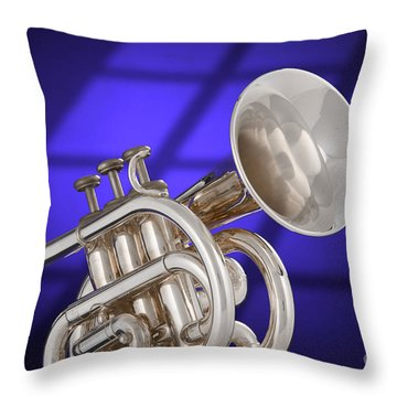Classic Cornet Throw Pillow
