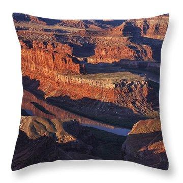 Classic Dead Horse Point Sunrise Throw Pillow