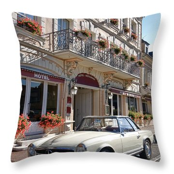Classic Elegance Throw Pillow by Olivier Le Queinec
