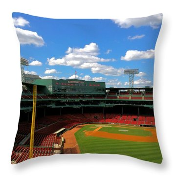 Classic Fenway I  Fenway Park Throw Pillow