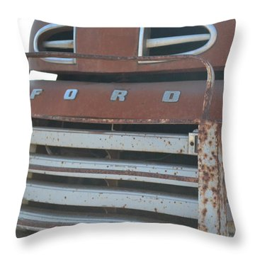Classic Grill Throw Pillow