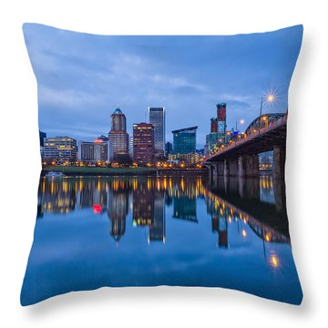 Classic Hawthorne Throw Pillow by Patricia Davidson
