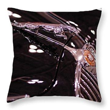 Classic Jaguar Throw Pillow