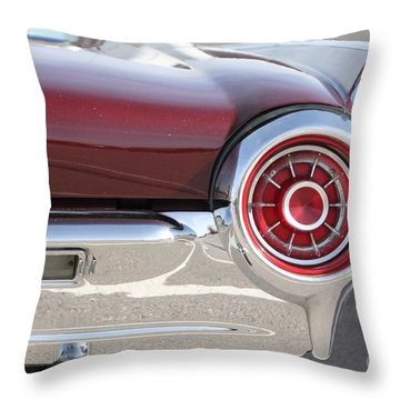 Classic... Throw Pillow by Lynn England