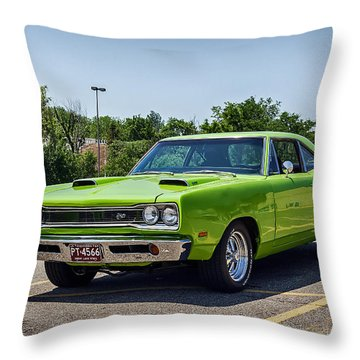 Classic Muscle Throw Pillow by Sennie Pierson