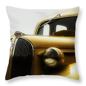 Classic Plymouth Throw Pillow