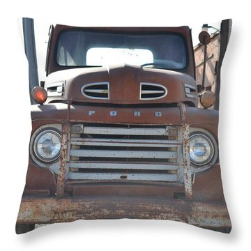 Classic Truck  Throw Pillow