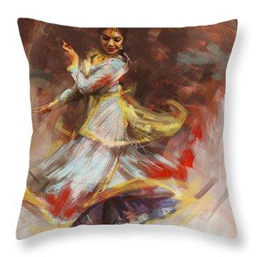 Classical Dance Art 8 Throw Pillow