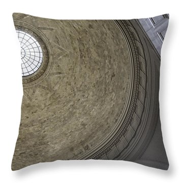 Classical Dome With Oculus Throw Pillow by Lynn Palmer