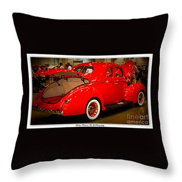 Classically Orange Throw Pillow