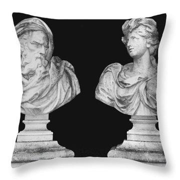 Classics Throw Pillow by Kristin Elmquist