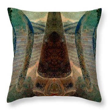 Classified Throw Pillow by WB Johnston