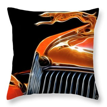 Classy Classic  Throw Pillow by Bob Christopher
