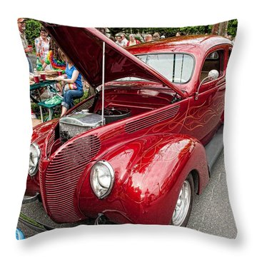 Classy Ride Throw Pillow