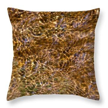 Clean Stream 3 - Featured 3 Throw Pillow by Alexander Senin