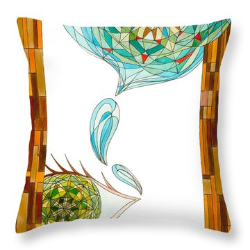 Cleansing Tears Throw Pillow