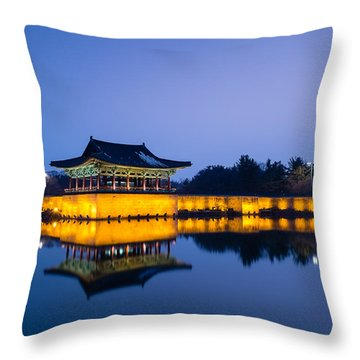Clear And Beautiful Throw Pillow