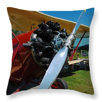 Clear Prop Throw Pillow