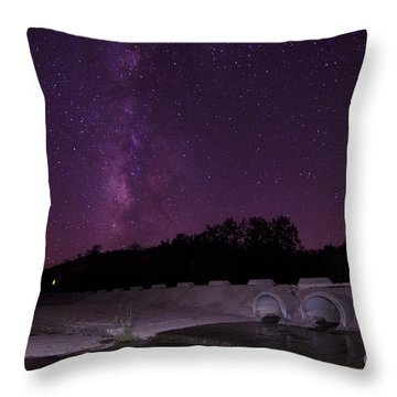 Clear Skies Throw Pillow