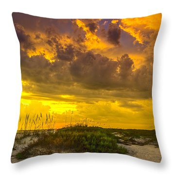 Clearing Skies Throw Pillow by Marvin Spates