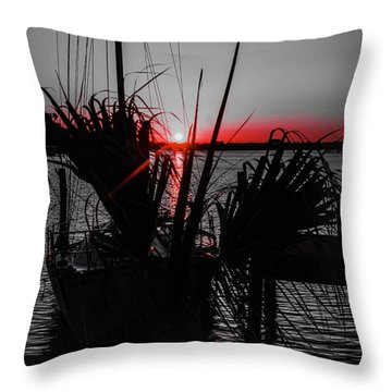 Clearwater Sunrise Throw Pillow