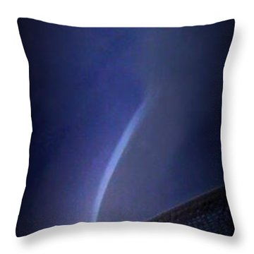 Cleavage Throw Pillow by Renee Trenholm