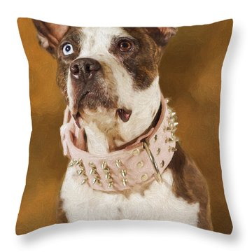 Cleopitra  Throw Pillow