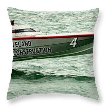 Cleveland Construction Throw Pillow